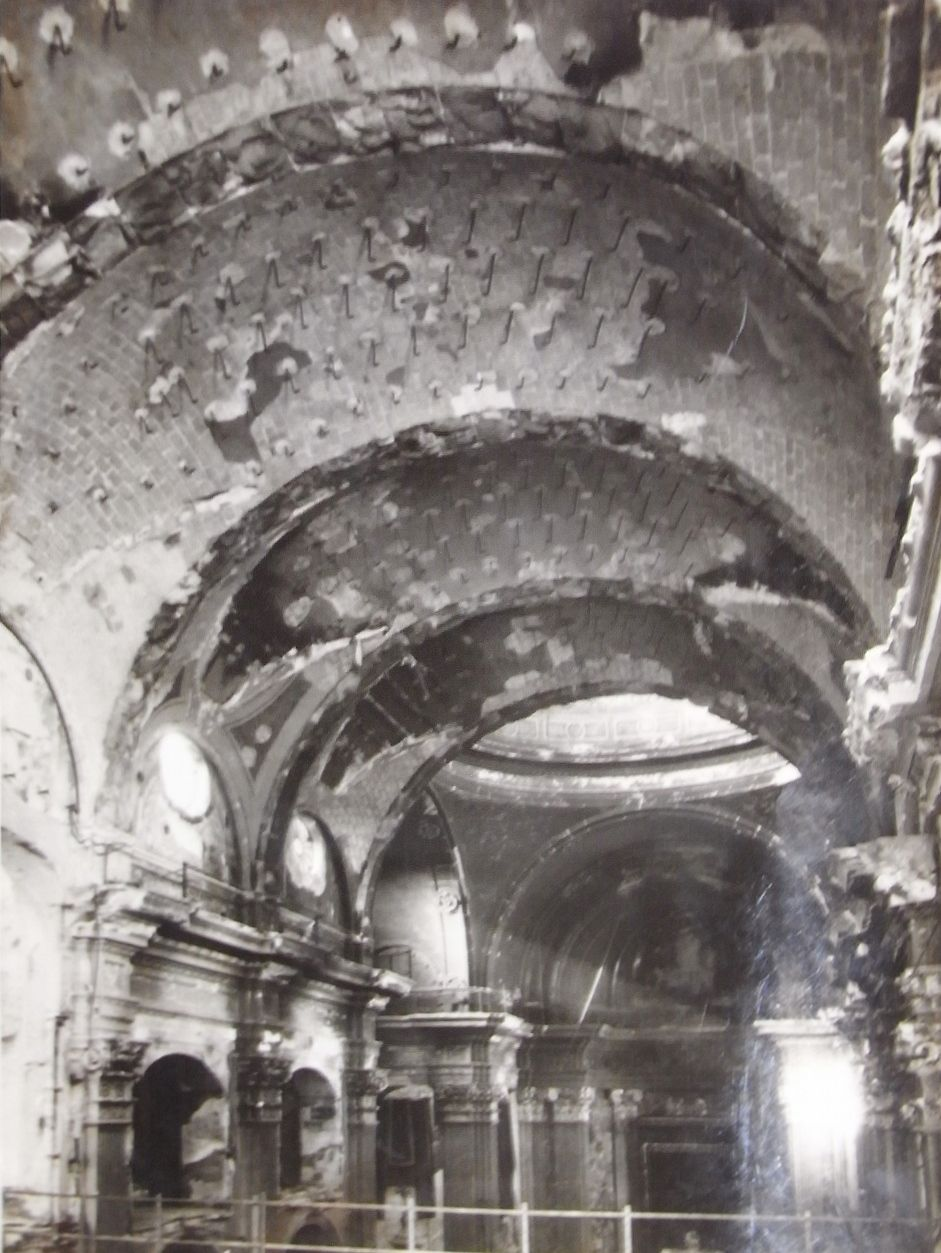 Exclusiva: Fotos incendio Basílica de la Merced en 1936